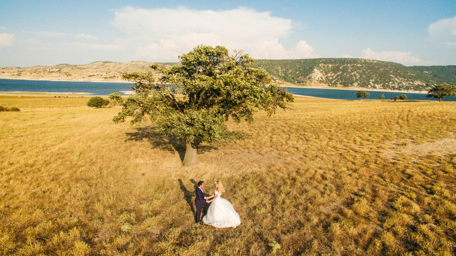 drone düğün fotoğrafları (44)