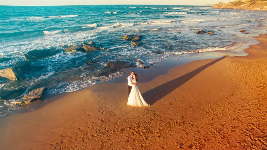 havadan düğün fotoğrafları